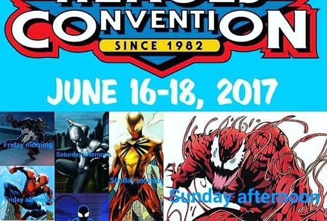 HEROES CONVENTION JUNE 16-18
