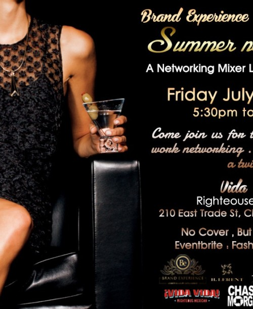 "BRAND EXPERIENCE Invites you to ""SUMMER EXPERIENCE"""